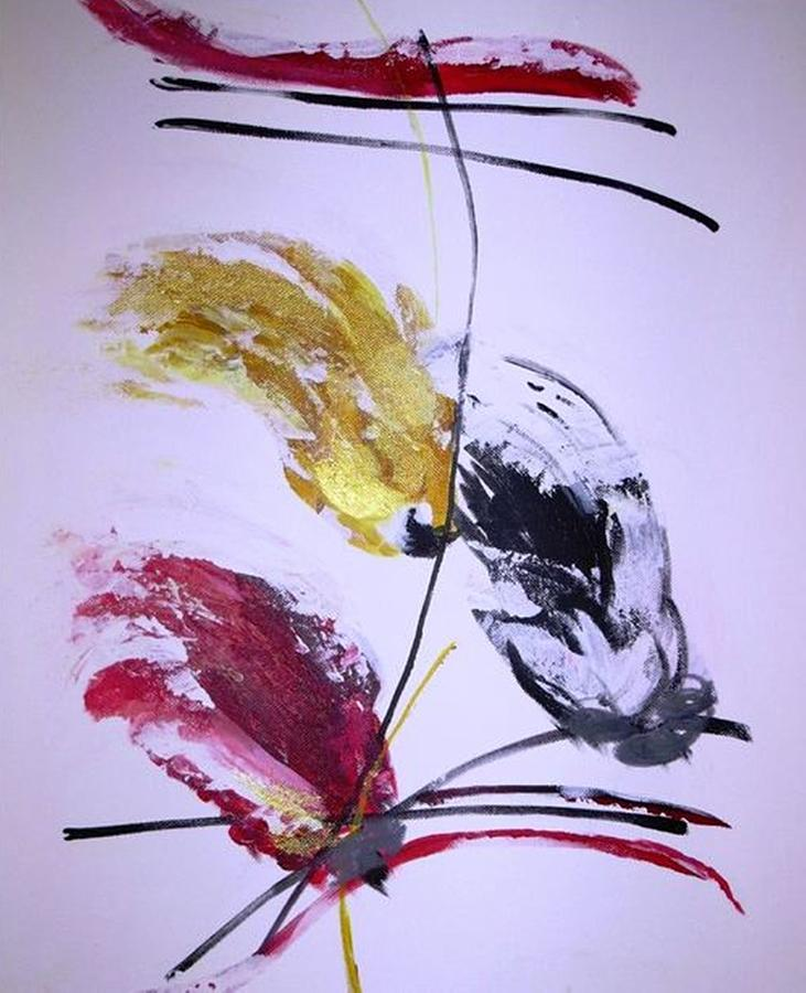 Painting - Tema 5 by Ferid Sefer