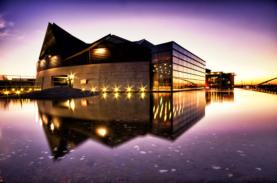Tempe Arts Center Photograph  - Tempe Arts Center Fine Art Print