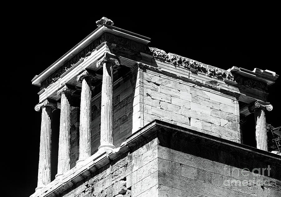 Temple Of Athena Nike Photograph  - Temple Of Athena Nike Fine Art Print