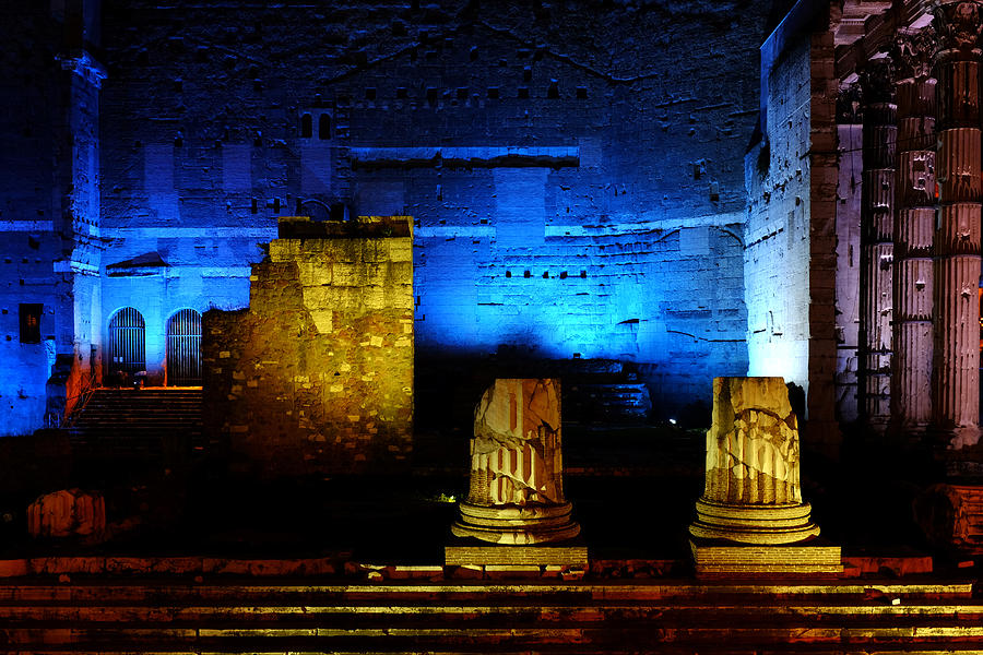 Temple Of Mars Ultor Photograph  - Temple Of Mars Ultor Fine Art Print