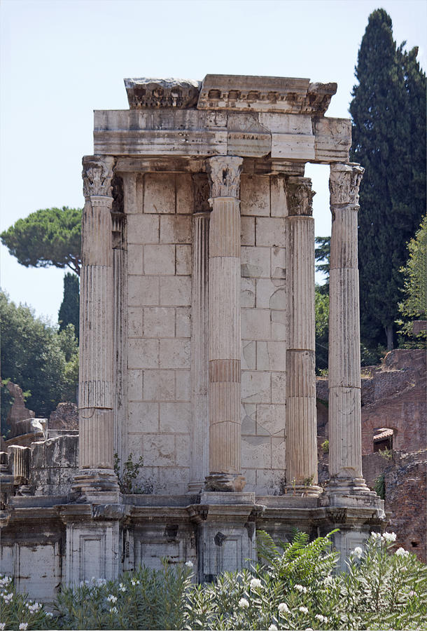 Temple Of Vesta Photograph  - Temple Of Vesta Fine Art Print