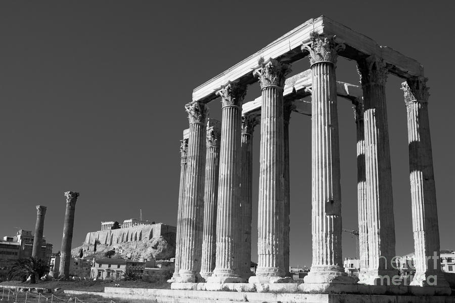 Temple Of Zeus Photograph