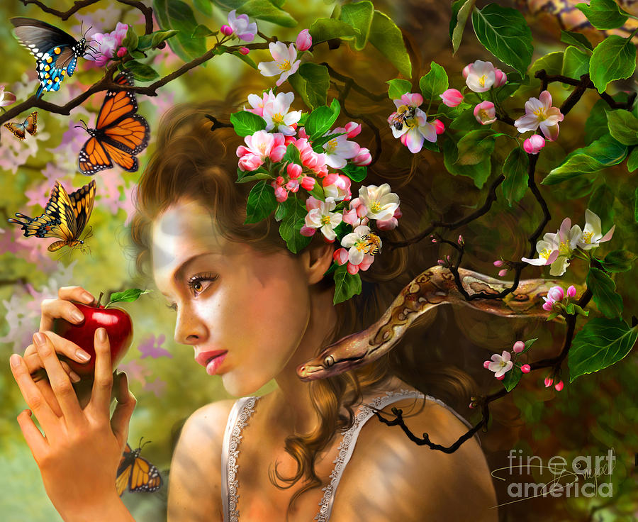 Temptation Of Eve Photograph  - Temptation Of Eve Fine Art Print