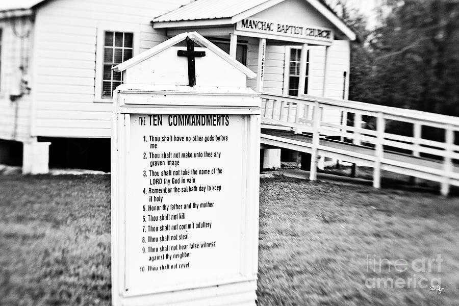 Ten Commandments Photograph