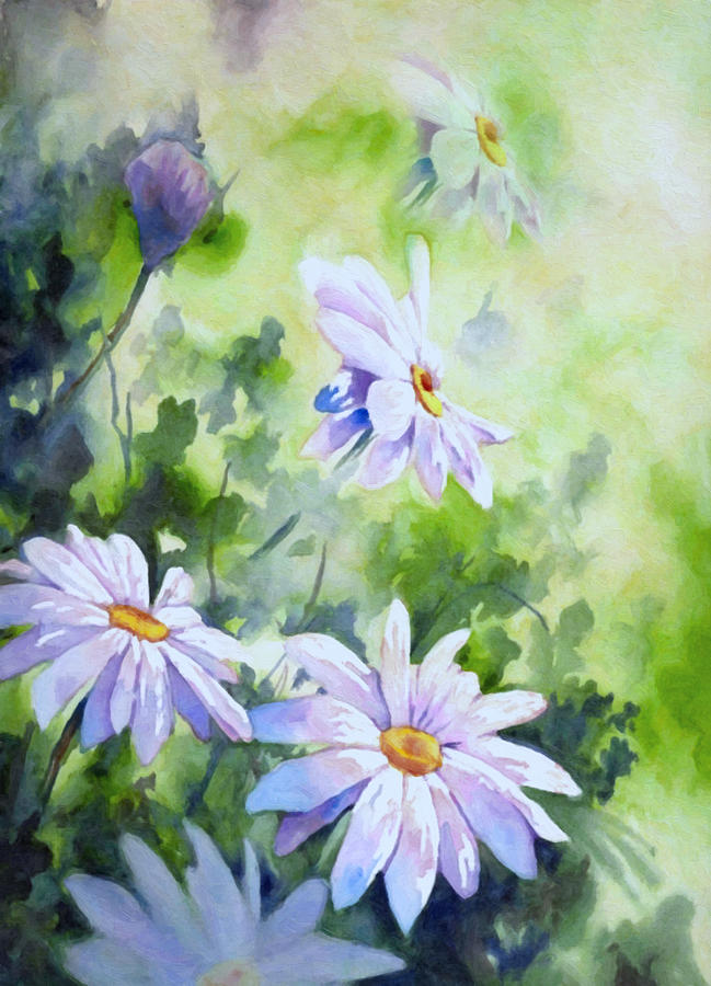 Tender Daisies Painting