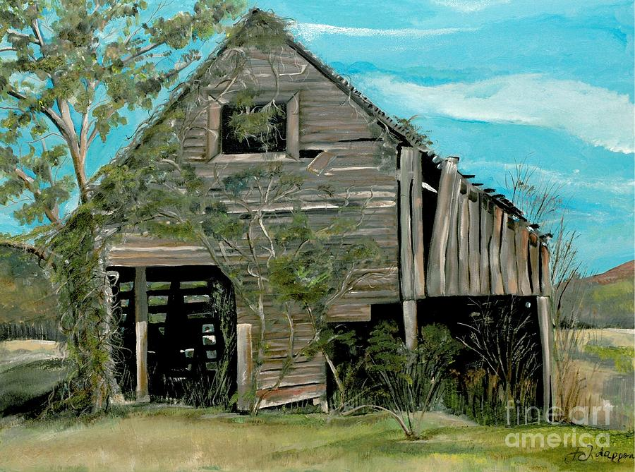 Tennessee Barns Painting  - Tennessee Barns Fine Art Print