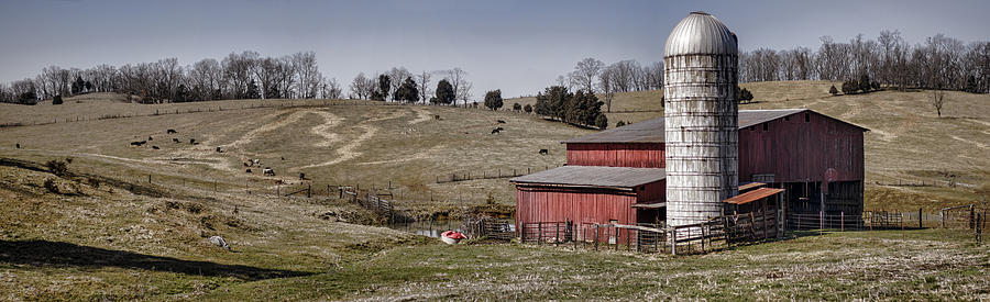 Tennessee Farmstead Photograph  - Tennessee Farmstead Fine Art Print
