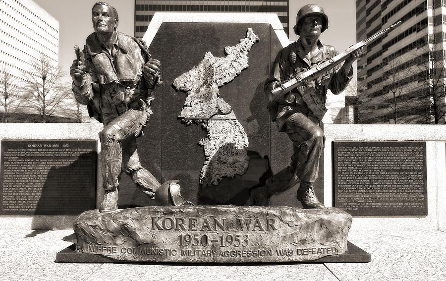 Tennessee Korean War Memorial Photograph
