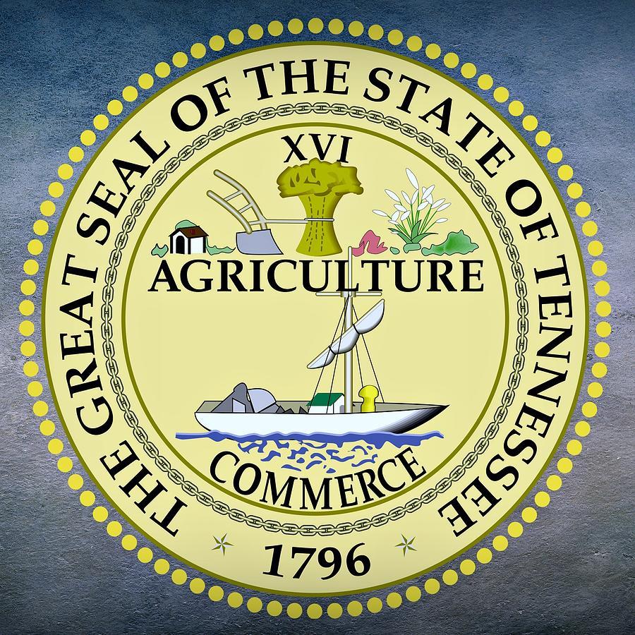 Tennessee State Seal Digital Art