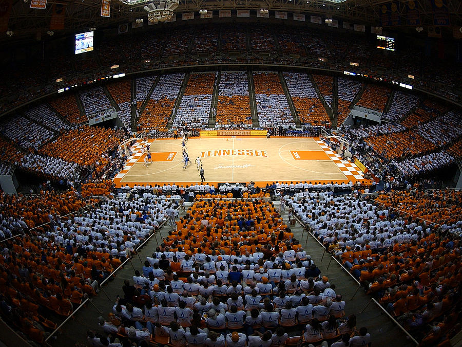 Tennessee Volunteers Thompson-boling Arena Photograph  - Tennessee Volunteers Thompson-boling Arena Fine Art Print