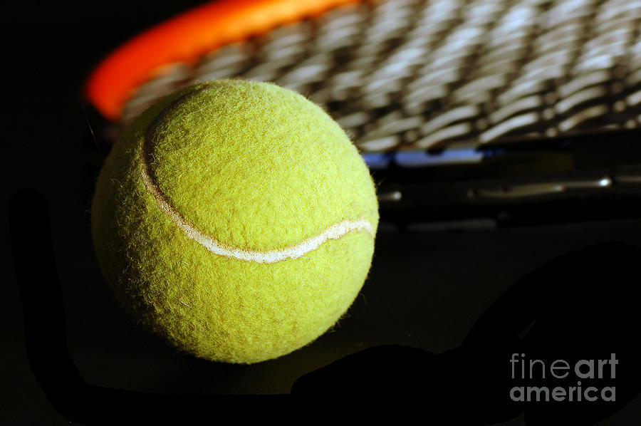 Tennis Equipment Photograph