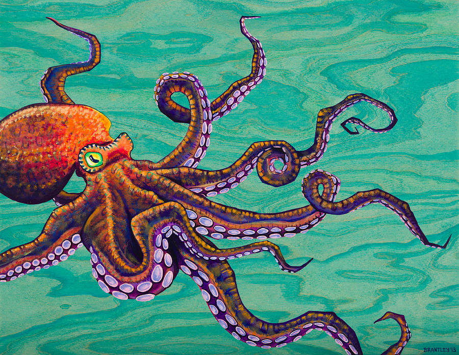 Tentacles Painting