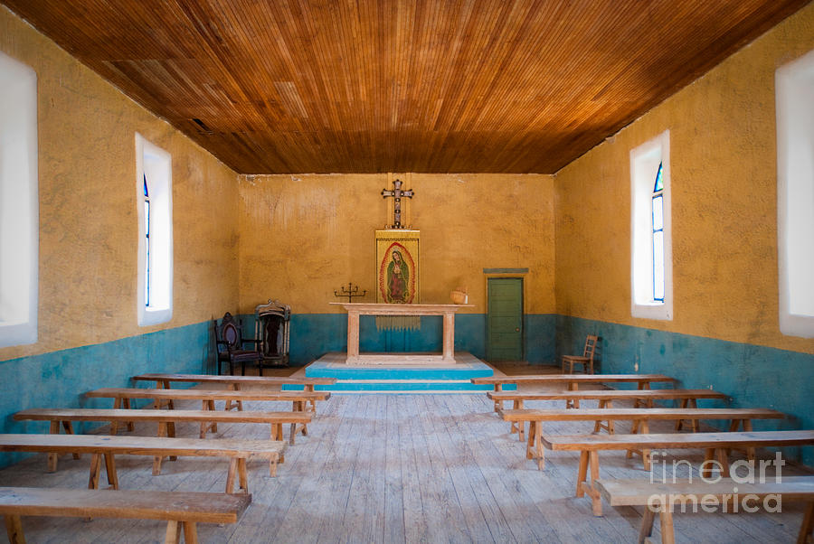 Terlingua Church Photograph  - Terlingua Church Fine Art Print