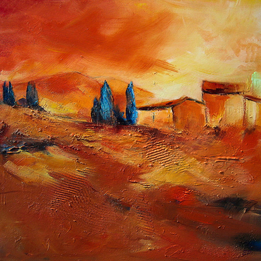 Terra Di Siena Painting