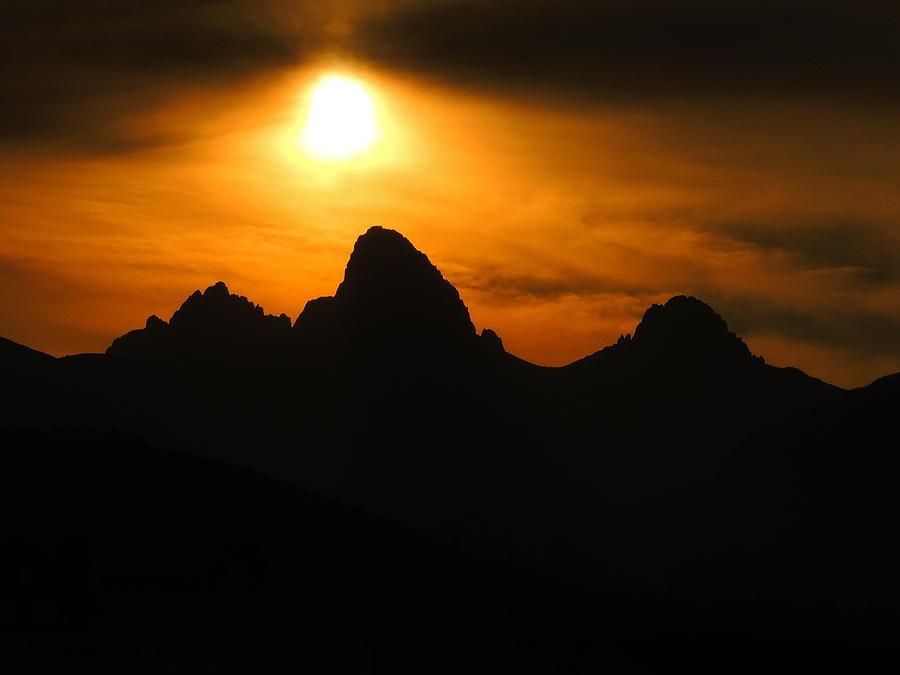 Teton Canyon Sunrise Photograph