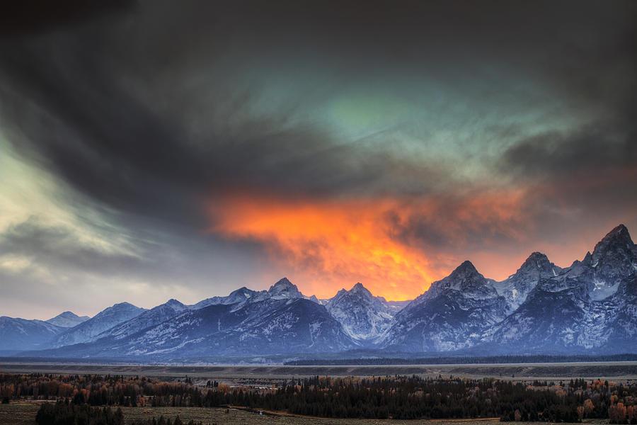 Teton Explosion Photograph