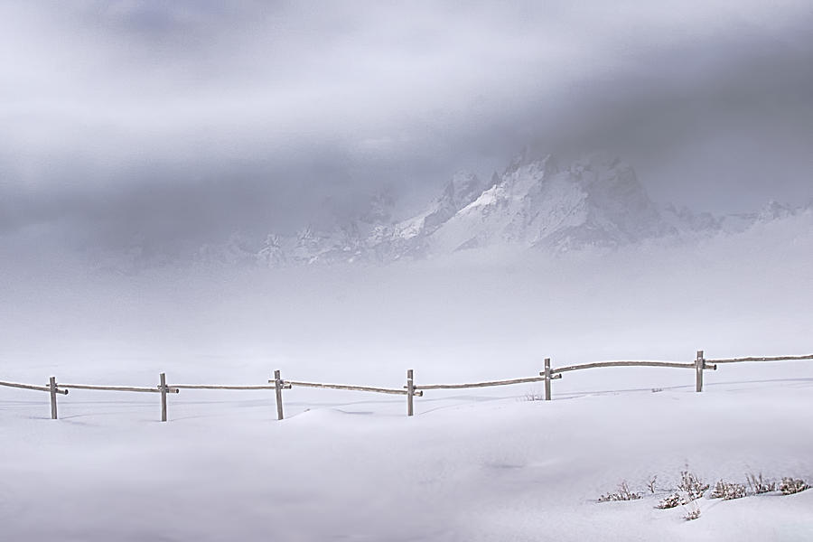 Grand Teton National Park Photograph - Teton Morning by Priscilla Burgers