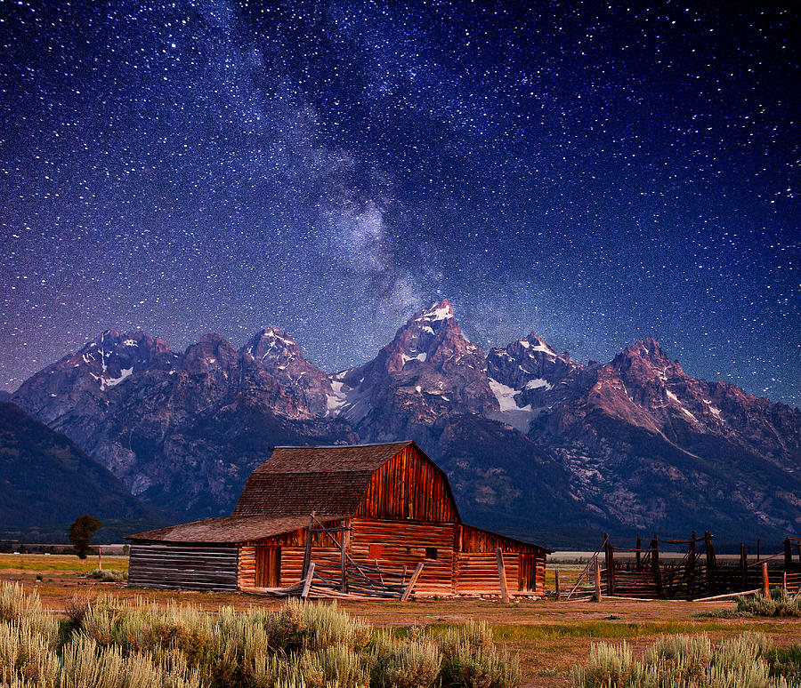 Teton Nights Photograph