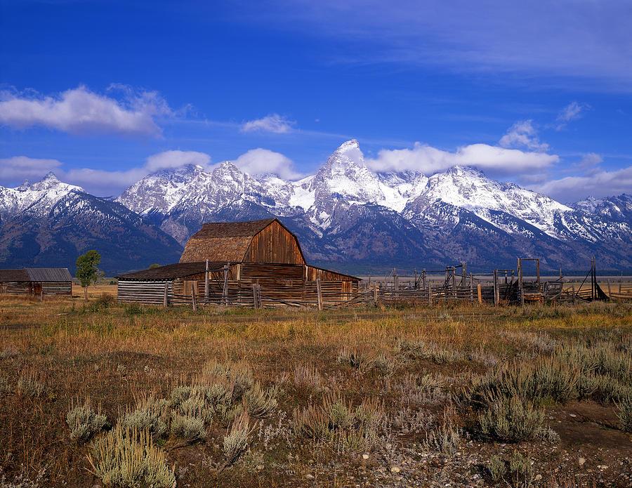 Teton Ranch Photograph By Mike Norton