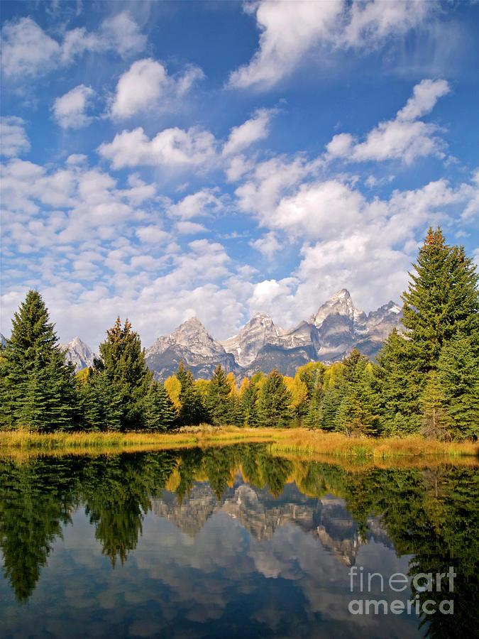 Landscape Photograph - Teton Reflections by Alex Cassels