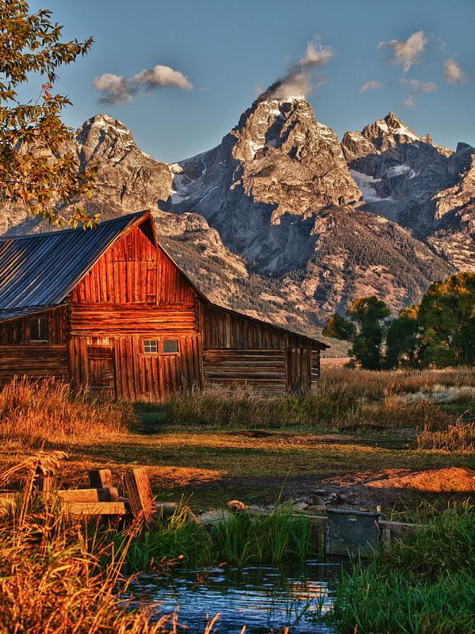 Grand Tetons Photograph - Teton Sunrise by Rob Wilson
