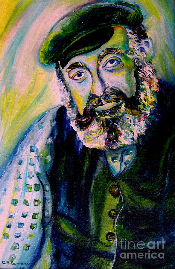 Tevye Fiddler On The Roof Painting