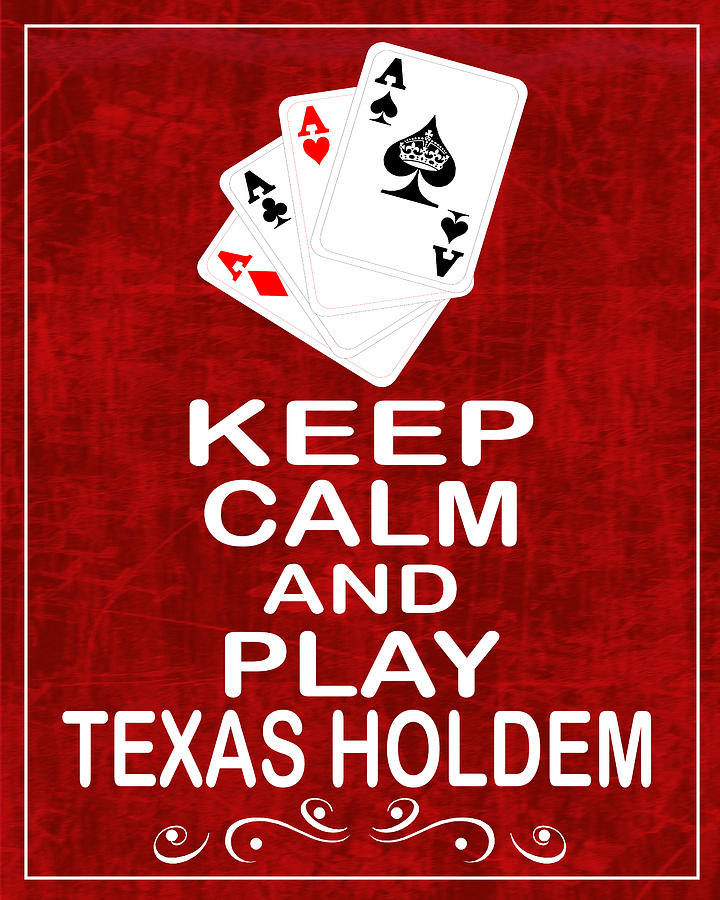 Texas holdem order of poker hands
