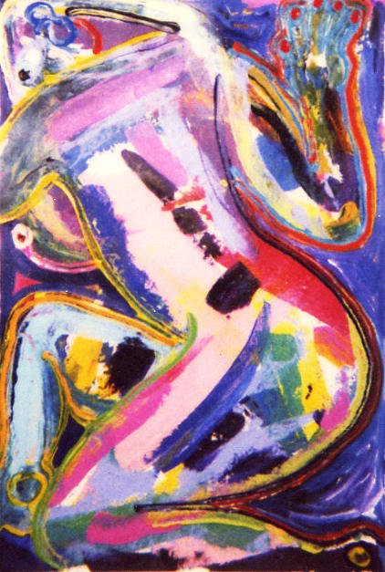 Nude Woman Painting - Texas Nude by Matthew Brzostoski