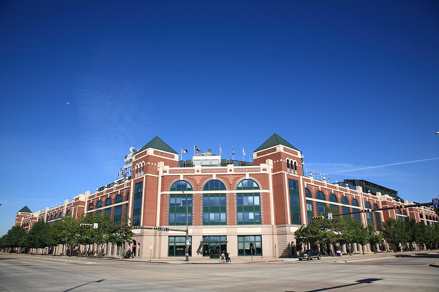 Texas Rangers Ballpark In Arlington Photograph