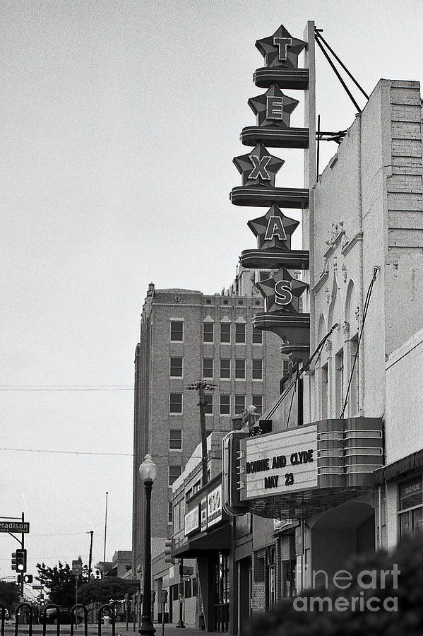 Texas Theatre Photograph