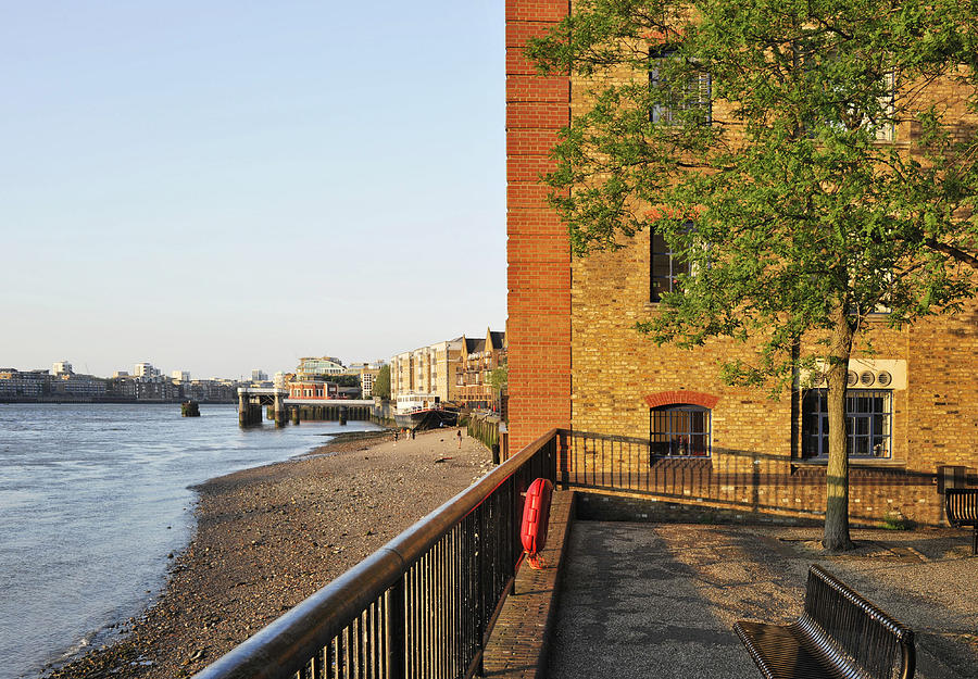 Thames Riverside Wharves Photograph
