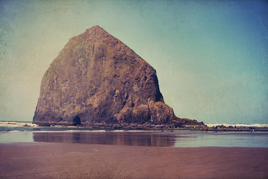 Cannon Beach Photograph - That Feeling In The Air by Laurie Search