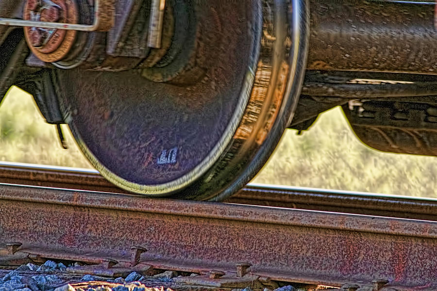 Train Photograph - That Train Just Keeps A Rollin by Gary Holmes