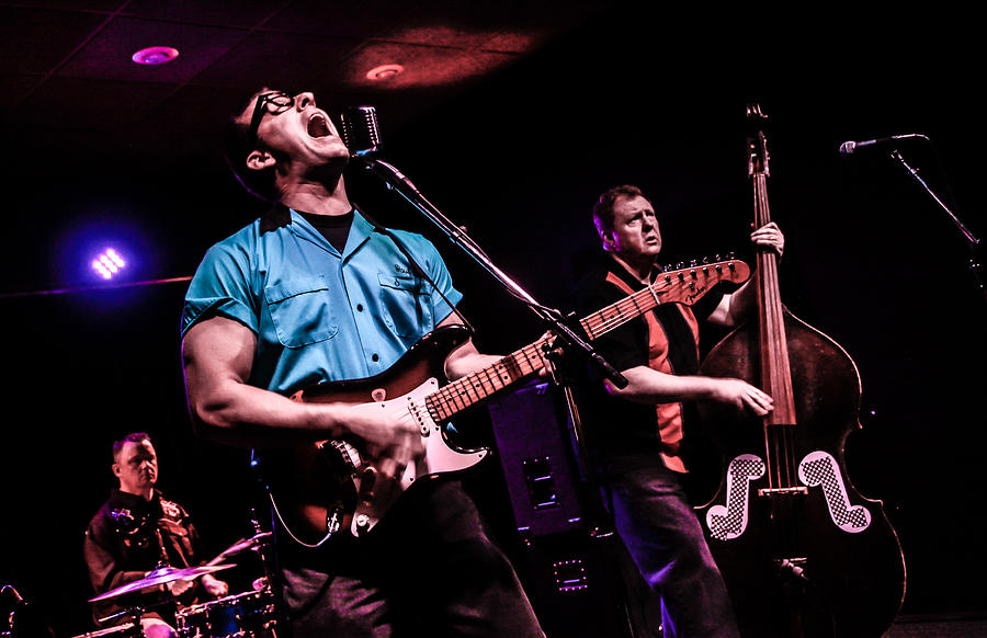 Sure Microphone. Rockabilly. Live Music Photograph - Thats Gone by Ray Congrove