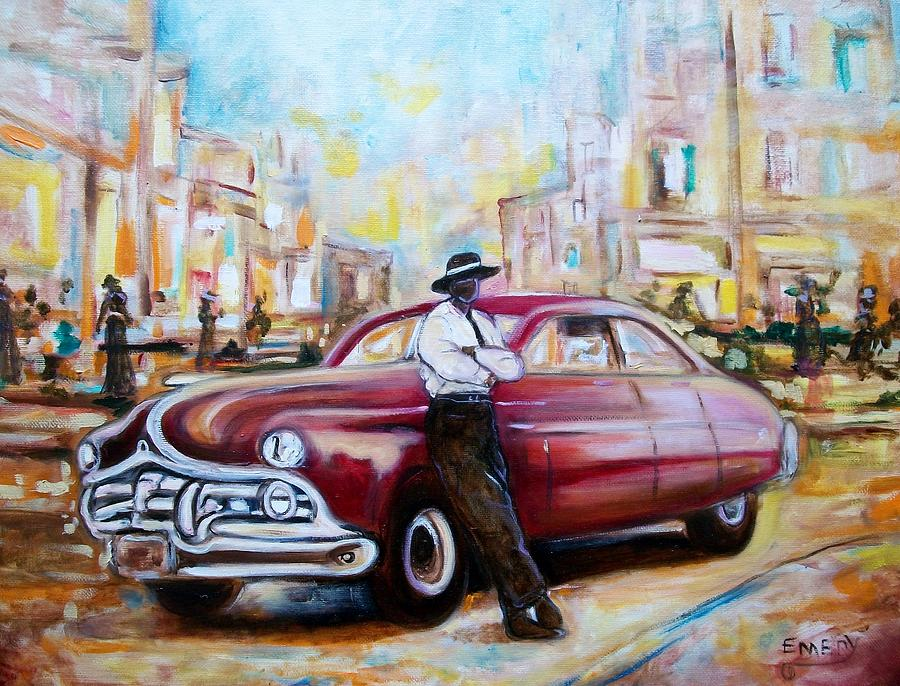 Emery Painting - The 1950 by Emery Franklin