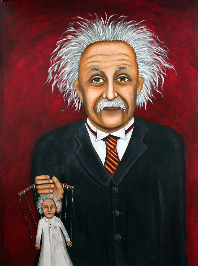 The 2 Einsteins Painting