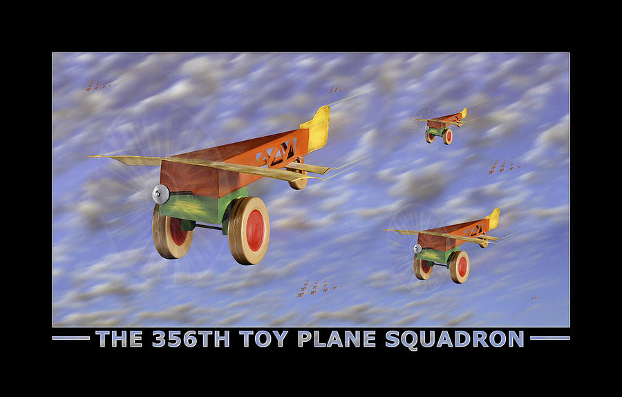 Toys Photograph - The 356th Toy Plane Squadron by Mike McGlothlen