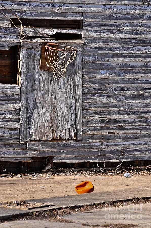 The Abandoned Basketball Photograph