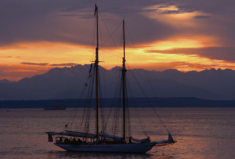 Transportation Photograph - The Adventuress Cruise by Kym Backland