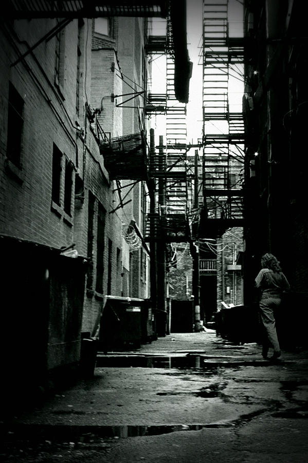 The Alleyway Photograph  - The Alleyway Fine Art Print