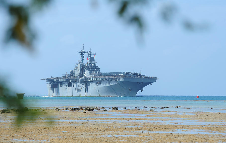 The Amphibious Assault Ship Uss Boxer  Photograph
