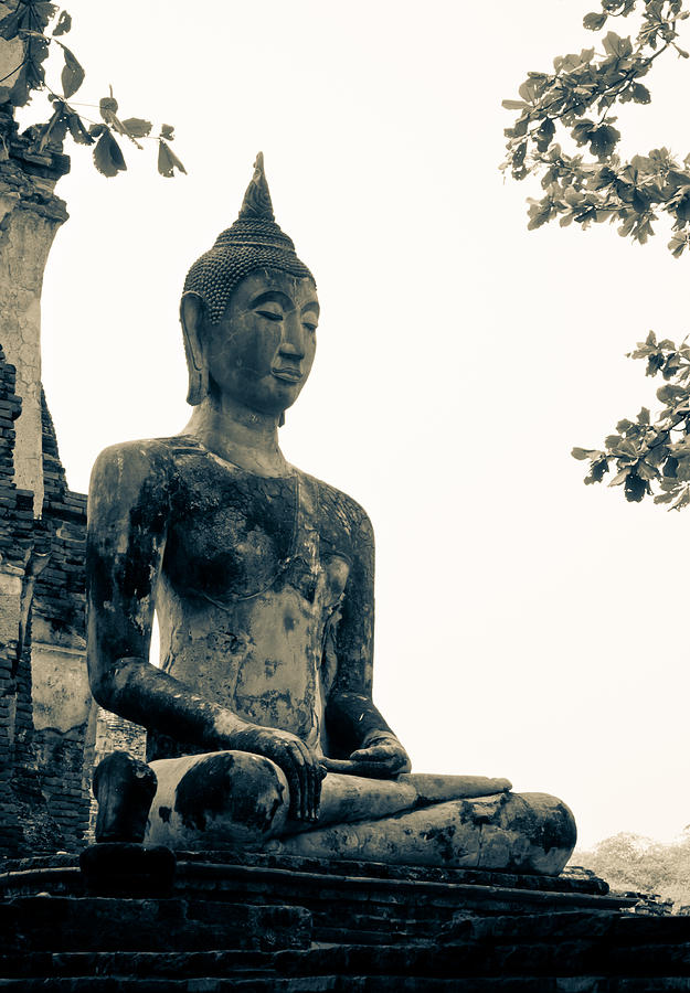 The Ancient City Of Ayutthaya Sculpture