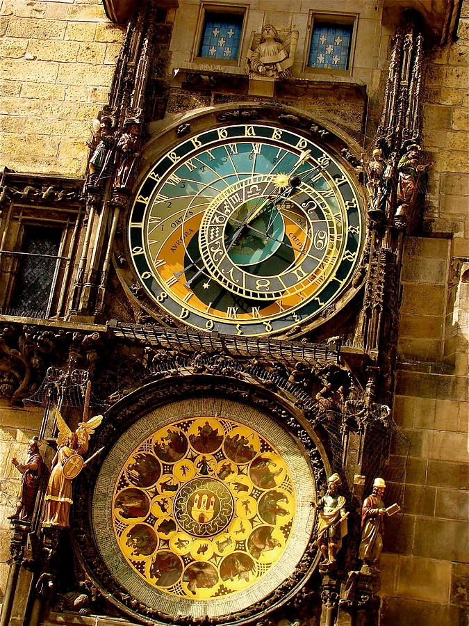 Prague Photograph - The Ancient Of Clocks by Ira Shander