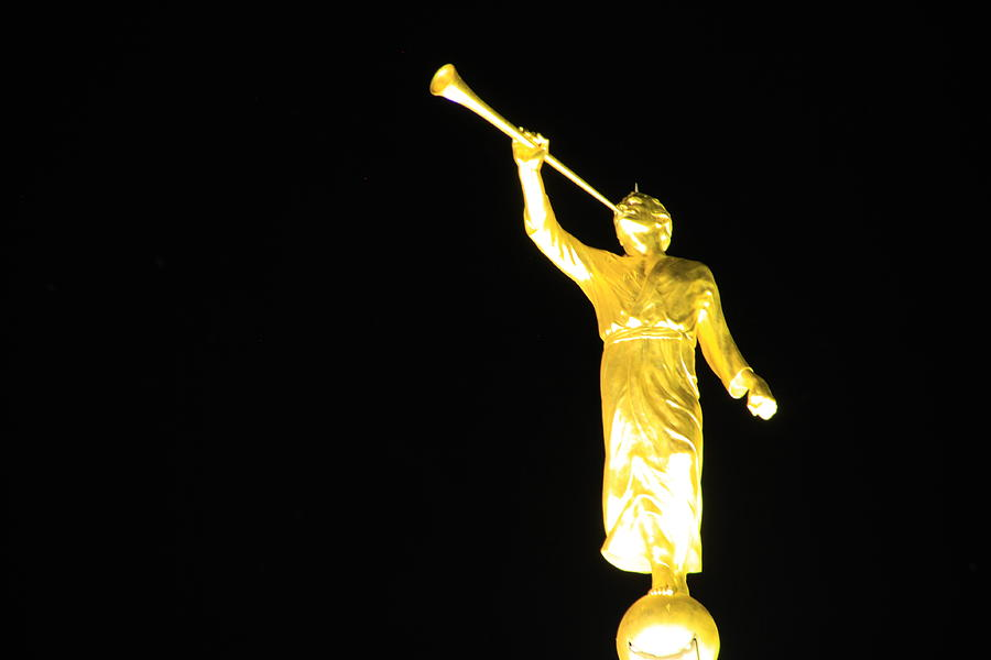The Angel Moroni Photograph