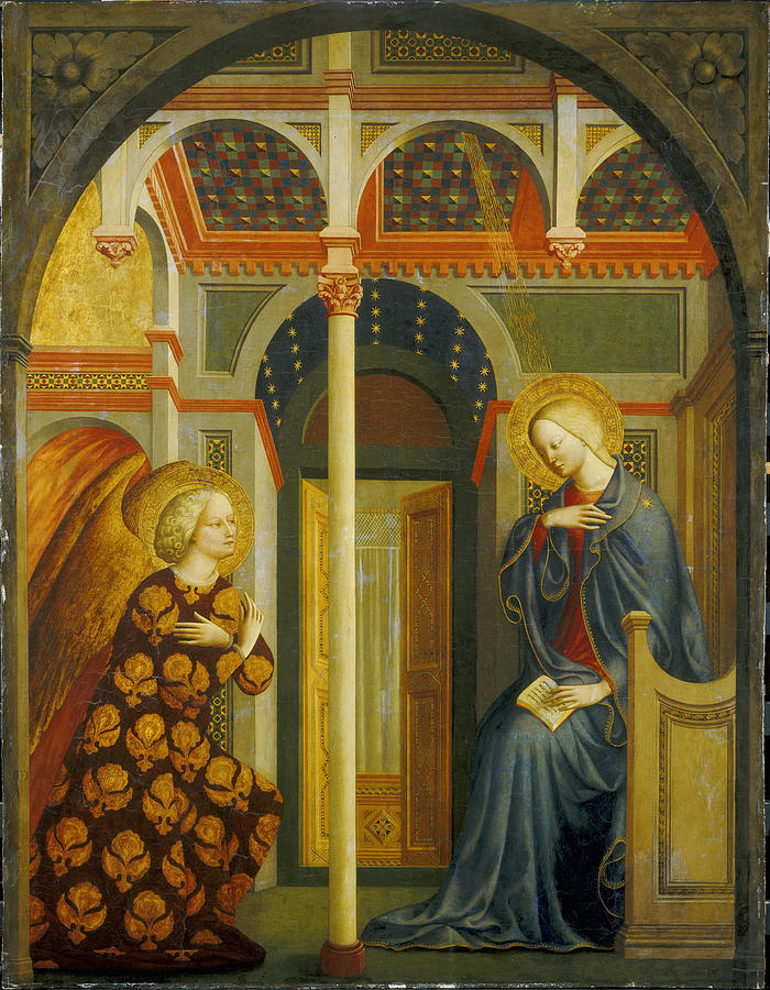 The Annunciation Painting