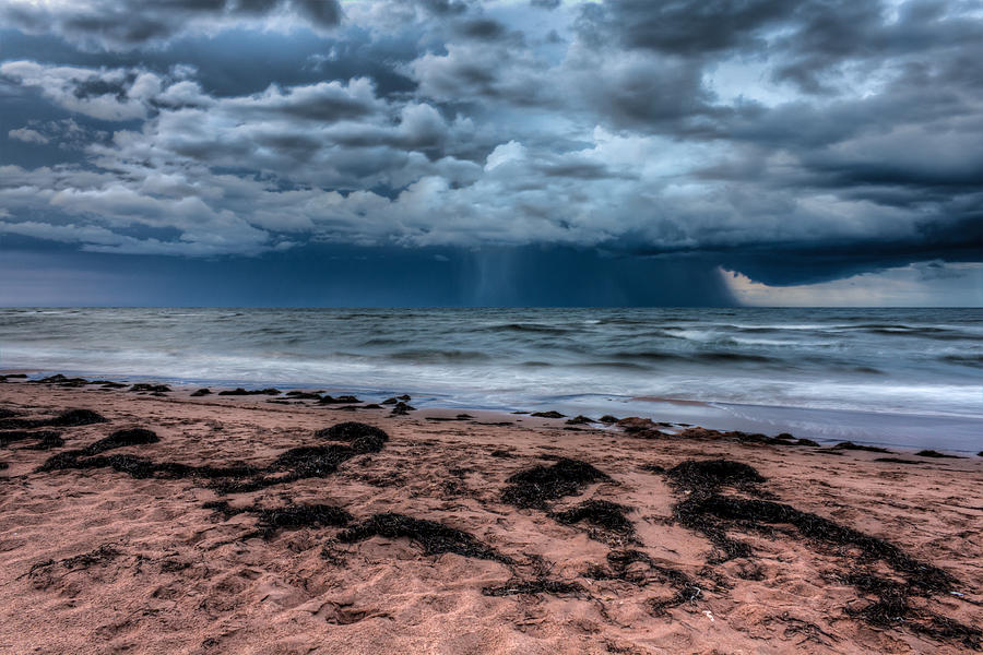 Motion Blur Photograph - The Approaching Storm by Matt Dobson