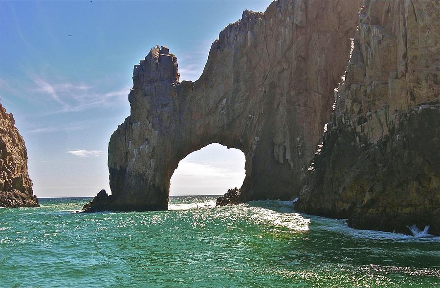 The Arch Lands End Cabo San Lucas  Photograph  - The Arch Lands End Cabo San Lucas  Fine Art Print