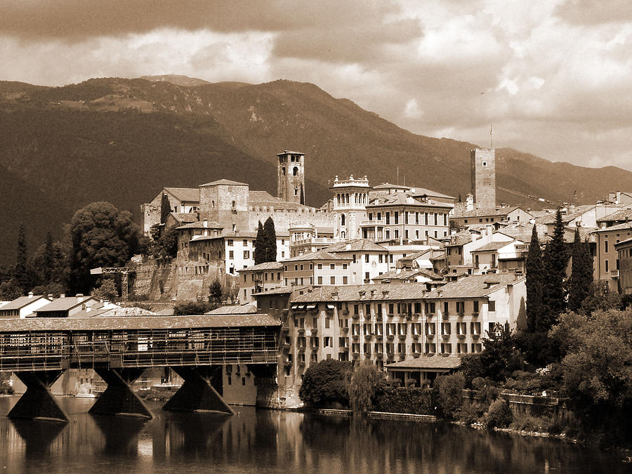 The Architecture Of Bassano Del Grappa Photograph