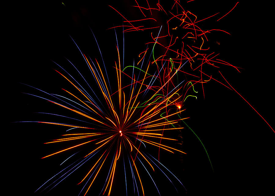 The Art Of Fireworks  Photograph