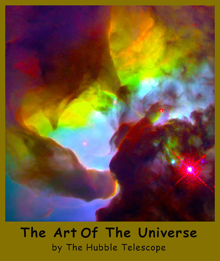 Outer Space Three Zero Six Digital Art - The Art Of The Universe 266 by The Hubble Telescope